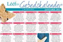 Januarie 2015 Gebedskalender