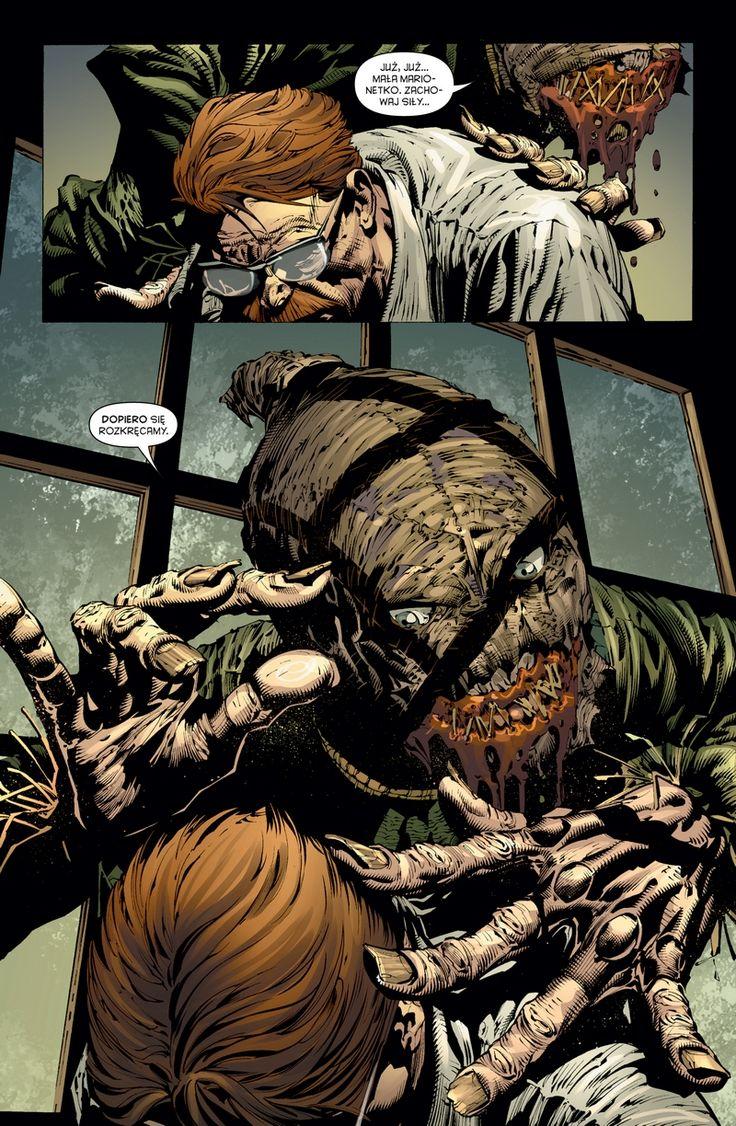 """Gregg Hurwitz (sc.), David Finch (rys.), """"Batman. Mroczny Rycerz #2: Spirala przemocy"""", Egmont, 2015."""