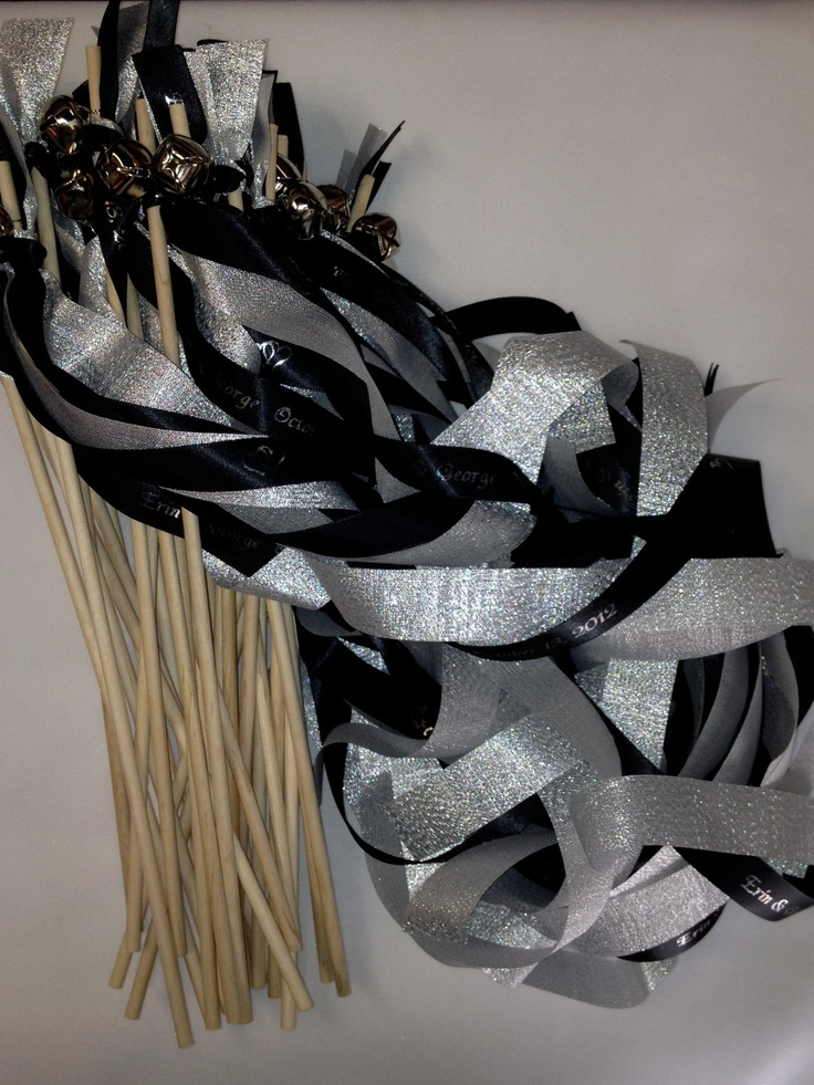 Wedding Favor Wands Reception Ceremony Streamers With