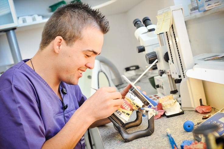 Our dental technicians are very well trained.