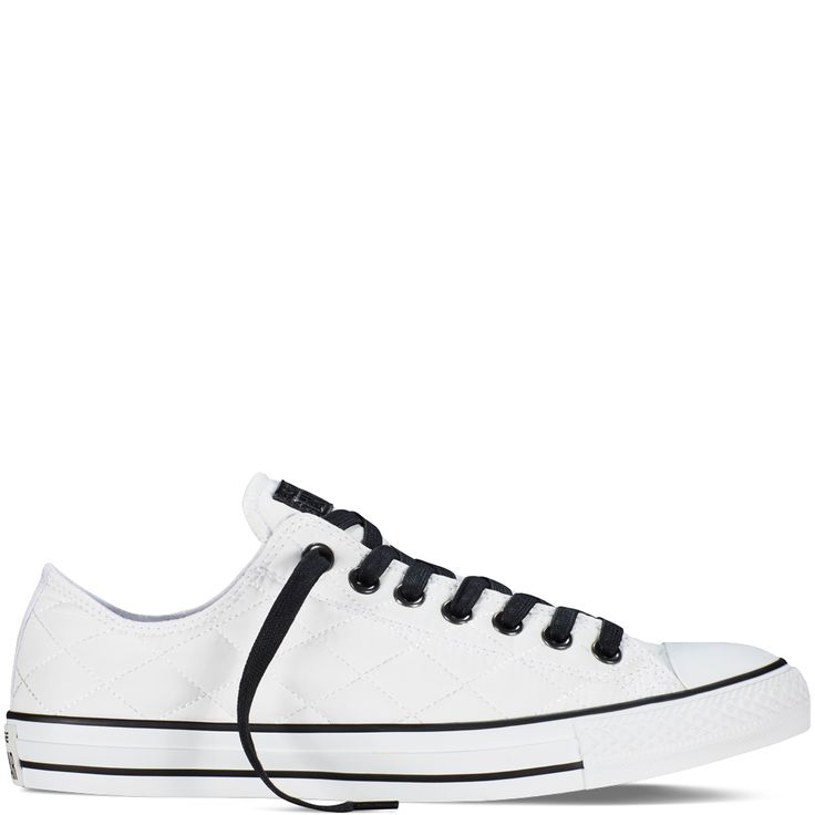 Chuck Taylor All Star Quilted White/Black/White white/black/white. Awesome Converse  ShoesConverse ...