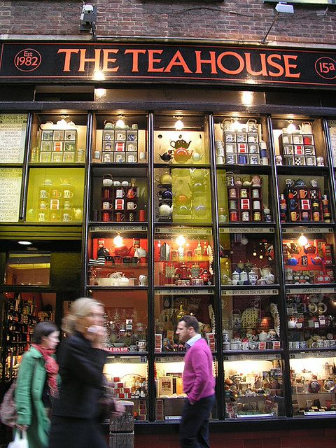 London shop The tea house by see/saw, via Flickr