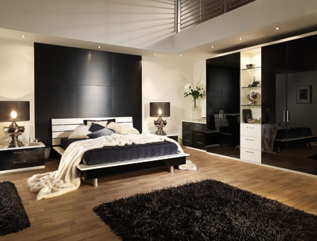 Ordinaire Black Contemporary Bedroom Furniture, Any House Consist Of Many Bedrooms At  Least 2 Bedrooms. Other Houses Have 5 Or 10 Bedrooms.