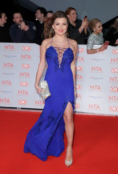 Zara Holland attends the National Television Awards 2018 at the O2 Arena on January 23, 2018 in London, England.
