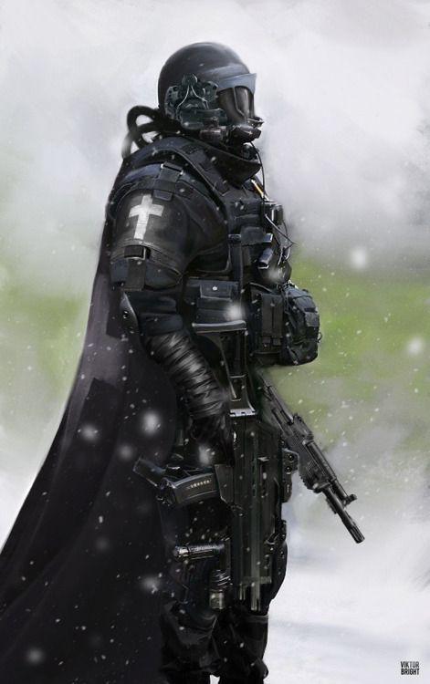 Black Templar by Viktor-Bright | Sci-Fi | 2D | CGSociety