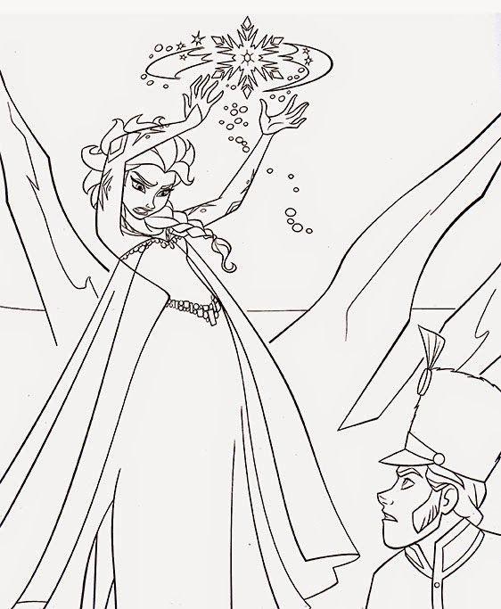 Desenhos para colorir - Jogos de pintar do Frozen