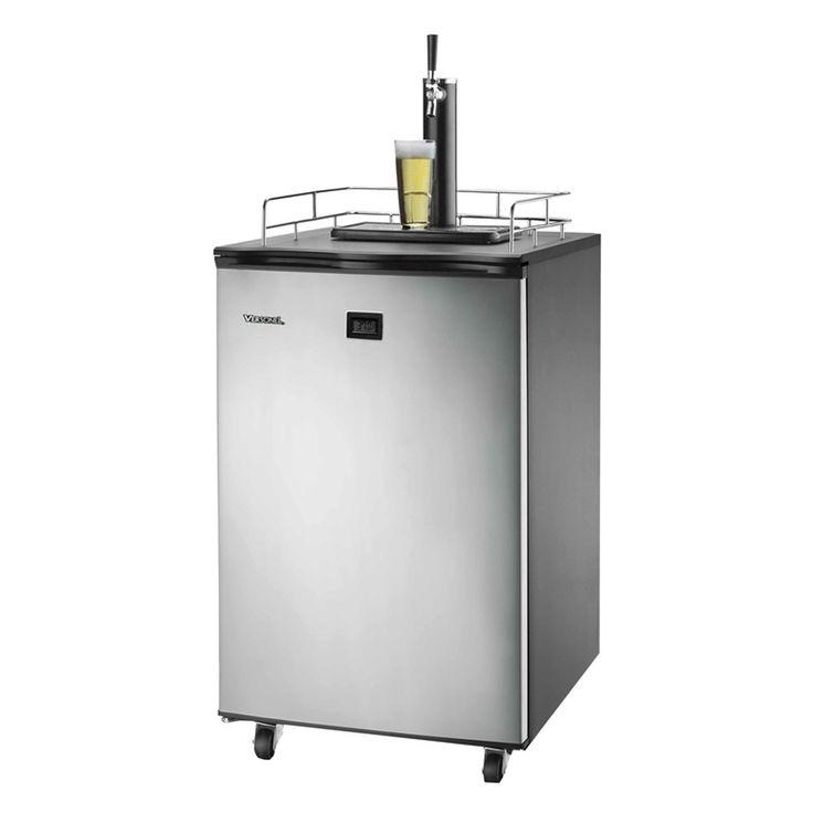 Versonel VSL155TDSS LCD Temp Full Keg Kegerator Beer-Meister - VSL155TDSS