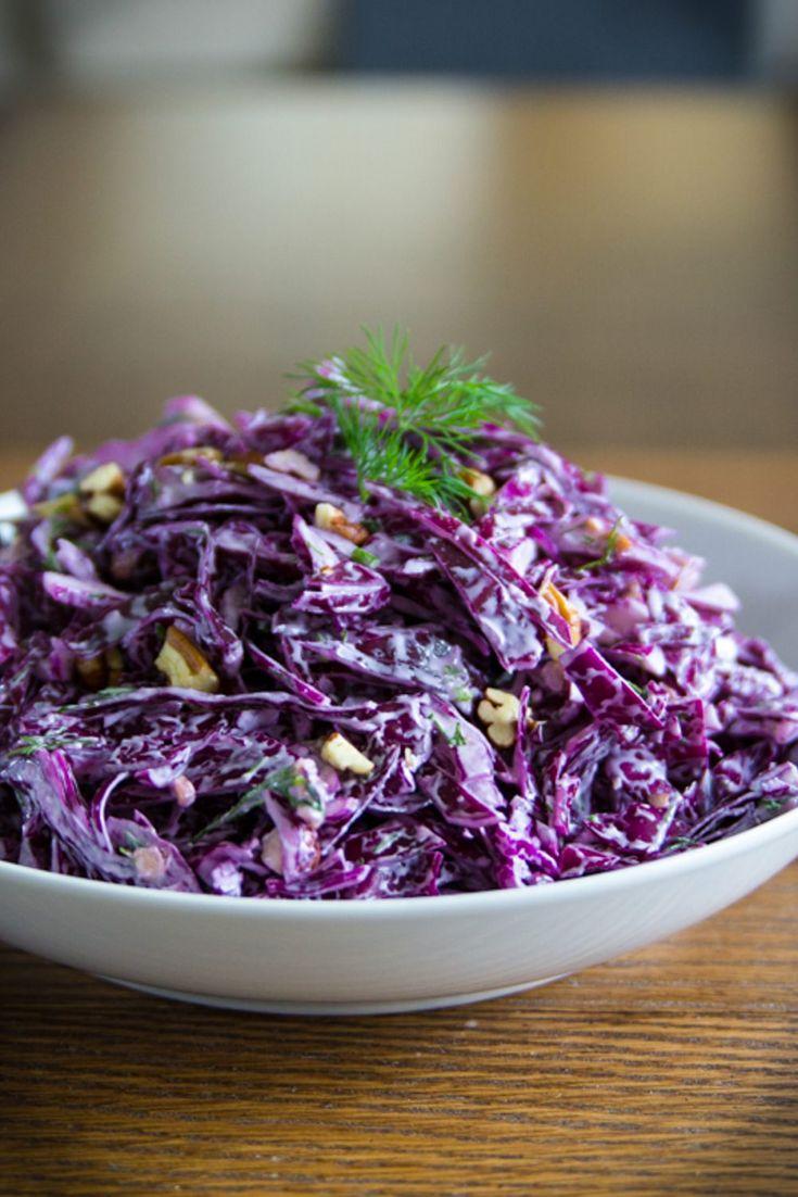салаты из фиолетовой капусты рецепты с фото школе особых