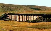 Scenic Drive Distance: 80 miles. Traffic forecast: Generally quiet, though the A65 can be busy in peak season.  Landmarks: Ingleborough and the Ribblehead viaduct, Wensleydale, Aysgarth Falls, Bishopdale and Wharfedale