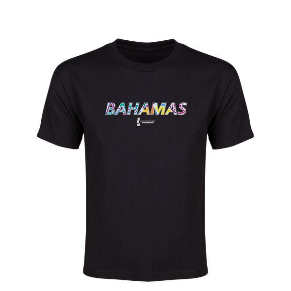 FIFA Beach World Cup Bahamas 2017 United Arab Emirates Youth T-Shirt (Black)