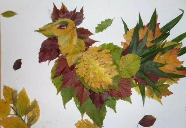 Bastelideen Kinder Kunst Huhn