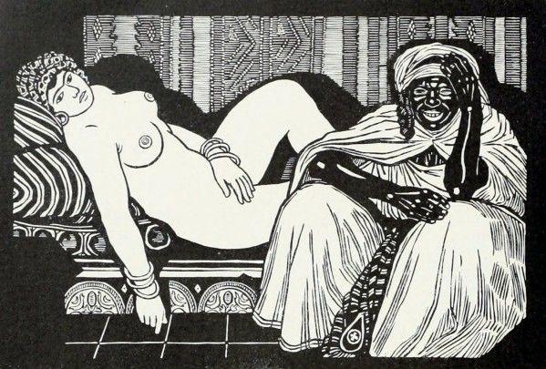 """"""" C'est un Orient réaliste, sincère et sensuel que fait revivre la peinture de Migonney (1876- 1929), s'inspirant de la vie quotidienne des populations urbaines ou rurales de l'Algérie : ses scènes de bains et de hammam ... ou ses peintures de femmes..."""