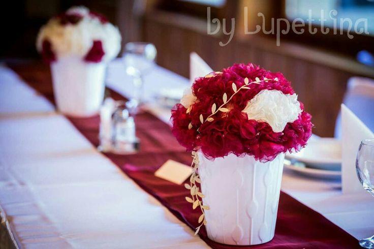 Wedding centerpriece by Lupettina