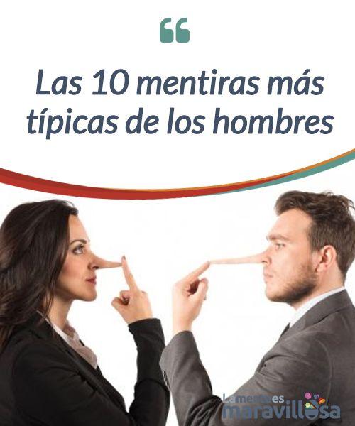 Las 10 mentiras más típicas de los hombres  No es cuestión de que nadie se #ofenda, pero según un #estudio, los hombres mienten hasta 4 veces más que las #mujeres, ¿por qué? Ahí va el #ranking de mentiras  #Curiosidades