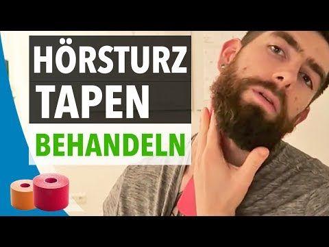 HÖRSTURZ BEHANDELN - Hörsturz Tapen Anleitung - YouTube