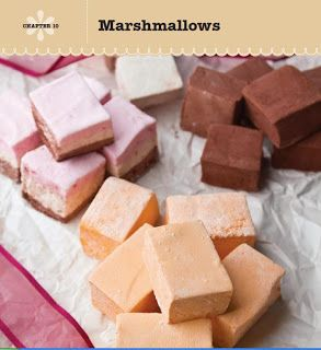 SPOON: Homemade Marshmallows from The Sweet Book of Candy Making #marshmallows #diymarshmallows