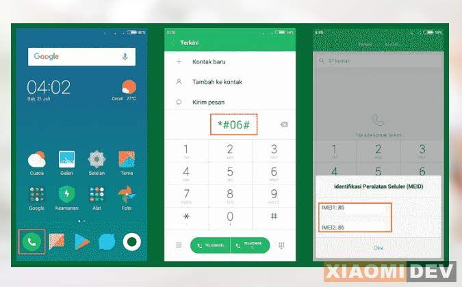 Cara Cek IMEI Xiaomi Asli Atau Palsu Dengan Kode | Pemerintah ...