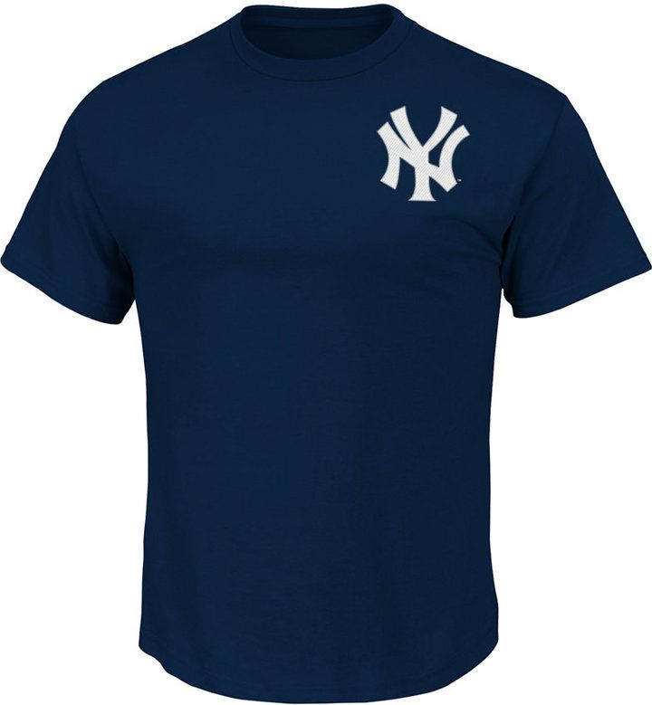 Majestic Men's New York Yankees Team Wordmark T-Shirt