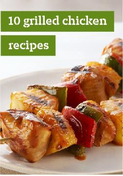 10 Grilled Chicken Recipes