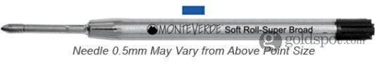 Monteverde Parker-Style Blue Extra Fine Soft Roll BP Refill