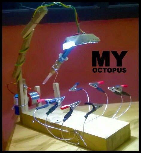 Soldering Octopus