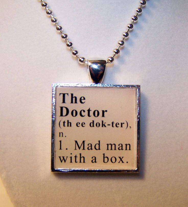 : Dictionary Definitions, Madman, The Doctors, Definitions Pendants, Doctorwho, Doctors Who, Doctor Who, Dr. Who, Mad Man
