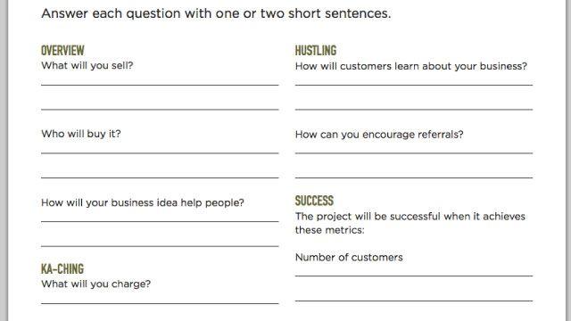 Best 25+ Simple Business Plan Ideas On Pinterest
