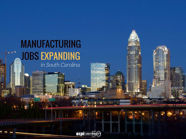 Greenville, SC Experiences Automated Manufacturing Growth