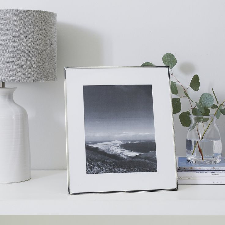 Fine Silver Photo Frame 8x10"
