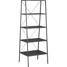 CB2 Hancock Bookshelve Bookcase (Modern Transitional Shelving) Steel