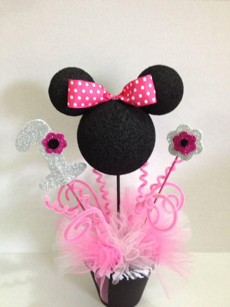 Minnie mouse centerpieces. .