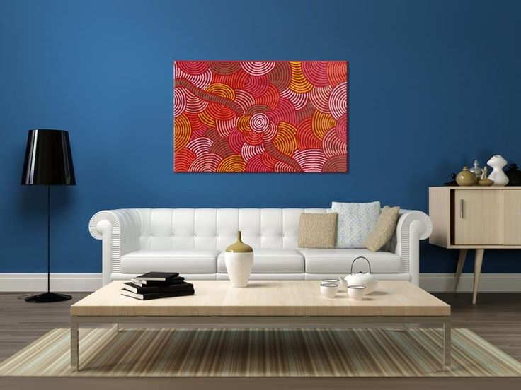 Australian Aboriginal Art Painting By MARLENE YOUNG NUNGURRAYI Womens Ceremony 123 X 79 Cm
