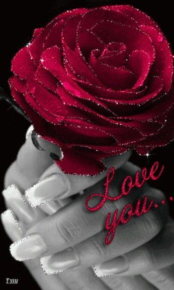 O vermelho nos lembra o amor.