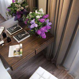Будуар, столик для макияжа в коттедже
