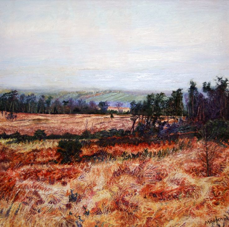 View to Crowborough Hill; the Ashdown Forest paintings on Behance