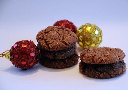 Annes Mat: Kryddiga chokladkakor med kanderad ingefära