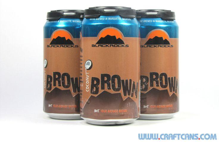 Coconut Brown from Blackrocks Brewing in Marquette, Michigan