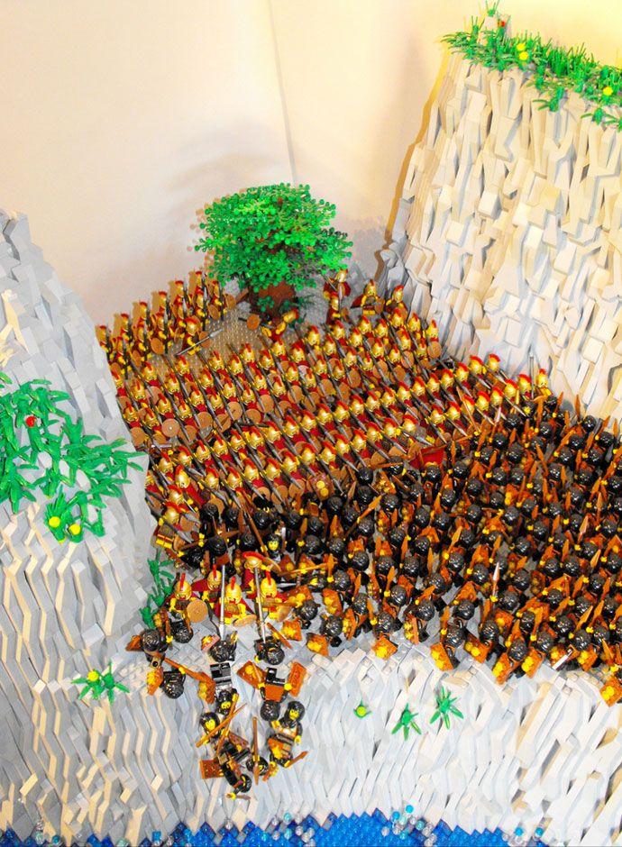 Greek Mythology in Lego - Battle of Thermopolae