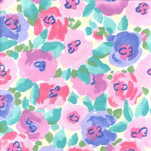 Pretty flower pattern pretty pinterest walk the line for Pretty watercolor pictures