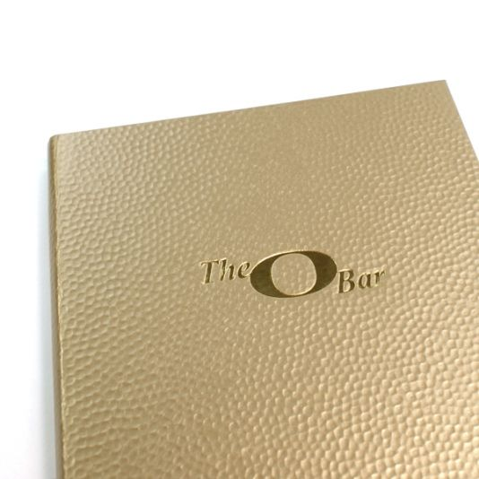 Bling MetalX Menu Covers - The Smart Marketing Group - Hospitality