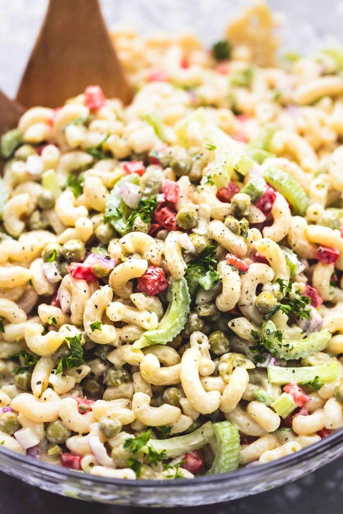This Is The Absolute Best Ever Creamy Sweet Macaroni Salad Made