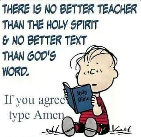 Amen. Jesus Christ is the the Word of God. There is no better teacher than the Holy Spirit. Read the text of holy scripture - the Bible! May you become a Christ follower
