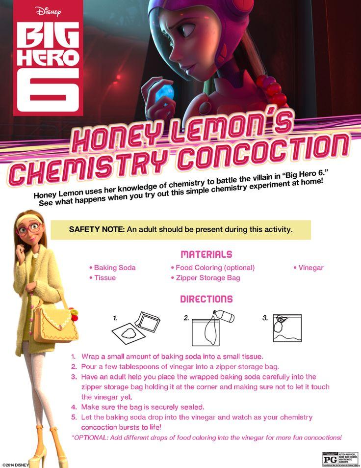 Try Honey Lemon's Chemistry Concoction today!