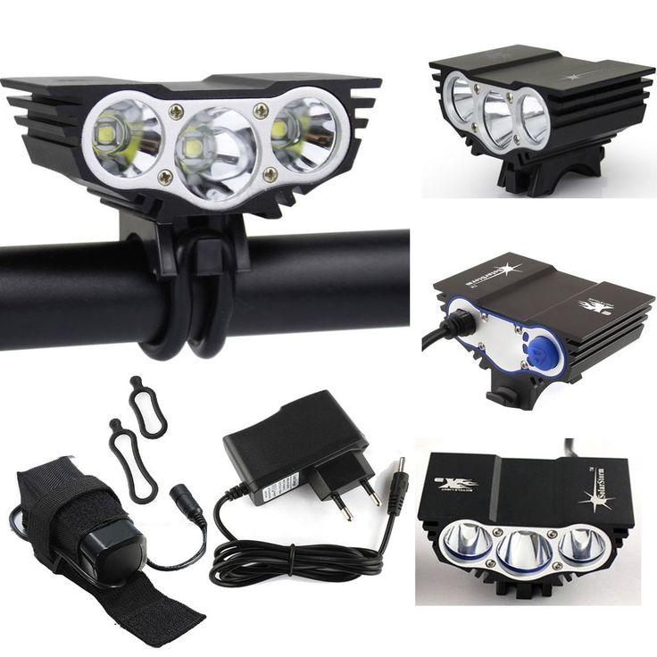 Ultral Hell X3 U2 Kopflicht Scheinwerfer Akkupack Bike Fahrradlampe  Ladegerät