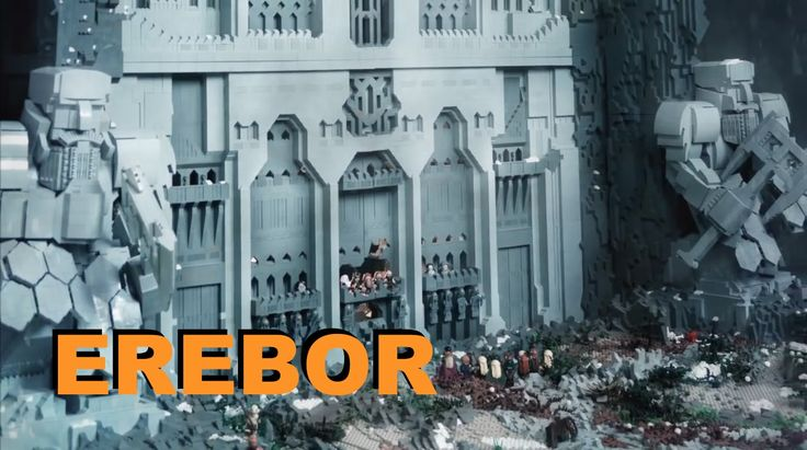 Lego The Hobbit LOTR EREBOR MOC by Migalart
