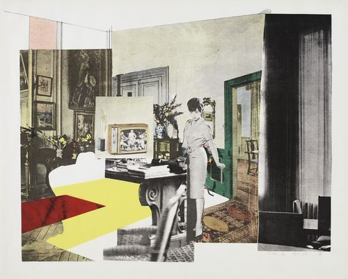Richard Hamilton (British, 1922–2011) Interior Date:October 1964 (published 1965)Medium:ScreenprintDimensions:composition: 19 5/16 x 25 1/...