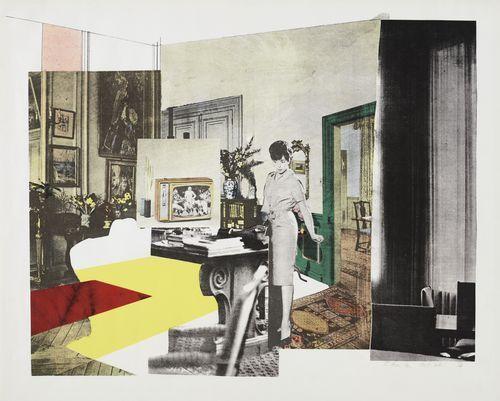 Richard Hamilton (British, 1922–2011) Interior Date:October 1964 (published 1965)Medium:ScreenprintDimensions:composition: 19 5/16 x 25 1/...