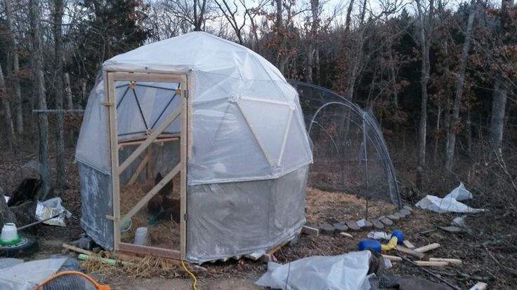 16' 2v Standard Geodesic Dome Greenhouse Kit for Sale - by Zip Tie Domes