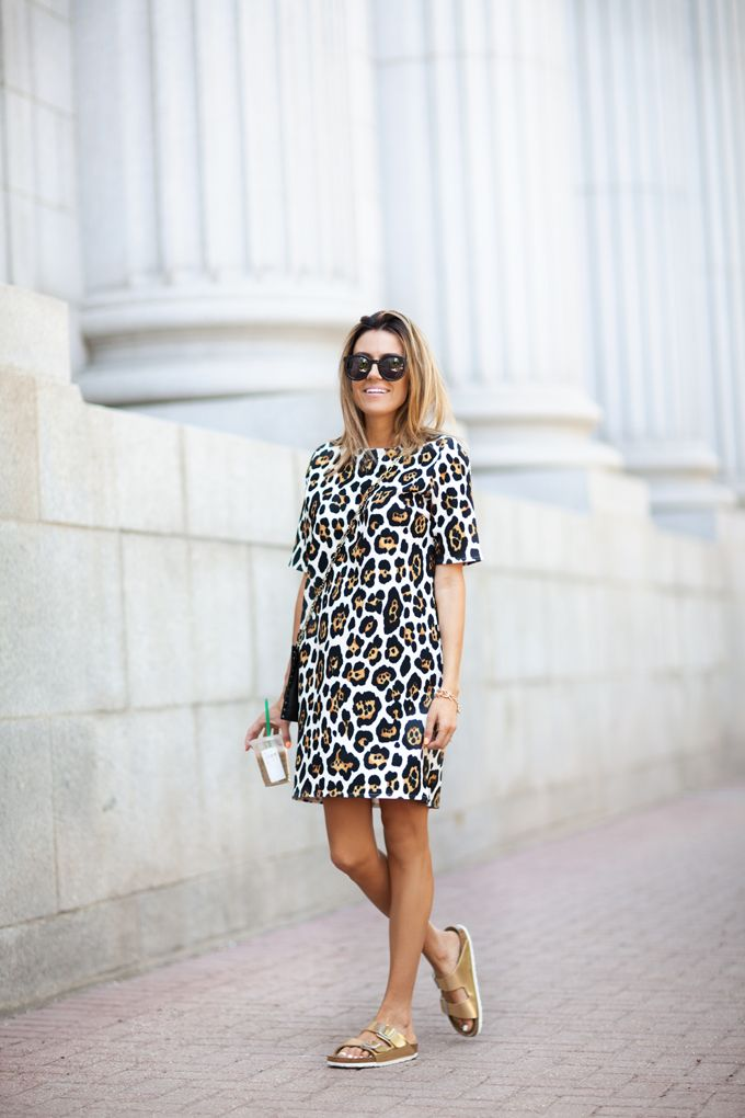 Leopard Shift Dress http://www.hellofashionblog.com/2014/06/leopard-shift-dress.html #MakeupCafe