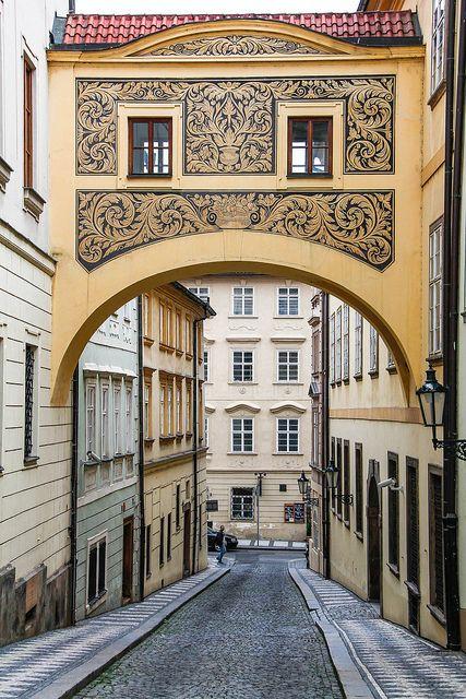 #Prague, Little quarter near the seat of #Czech parlament. http://www.svasek.eu